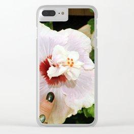 Hawaiian Dream Clear iPhone Case