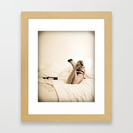 no show Framed Art Print