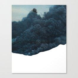 mr. smoke Canvas Print