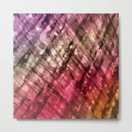 Interwoven, too Metal Print