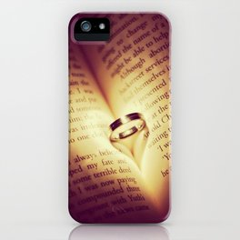 I Love Him  iPhone Case