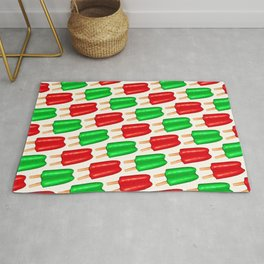 Christmas Popsicle Pattern  Rug