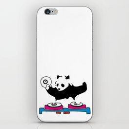 DJ Panda Funny iPhone Skin