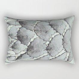 Aloe Vera Abstract Rectangular Pillow