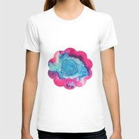 mars T-shirts featuring Mars by Heather Plewes Art