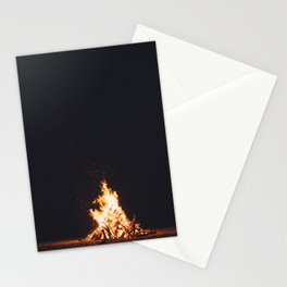 BONFIRE - FIRE - HOT - PHOTOGRAPHY Stationery Cards