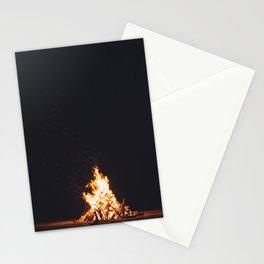 BONFIRE - FIRE - HOT - PHOTOGRAPHY Stationery Cards