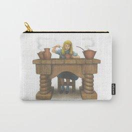 Goldilocks Eating Her Porridge Carry-All Pouch