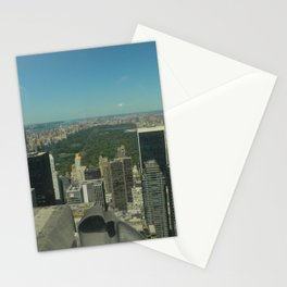 Central Park Aerial View Stationery Cards