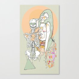 life & death Canvas Print