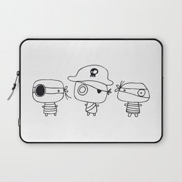 Three pirates, colour yourself Laptop Sleeve