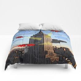 EMPIRE STATE COMIC Comforters