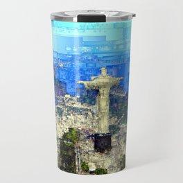 Cristo In Rio De Janeiro Brazil Travel Mug