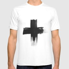 Cross Mens Fitted Tee White MEDIUM