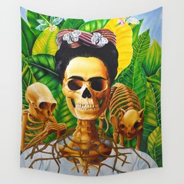 Frida vive Wall Tapestry