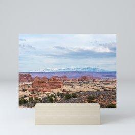 Distant Mountains Mini Art Print