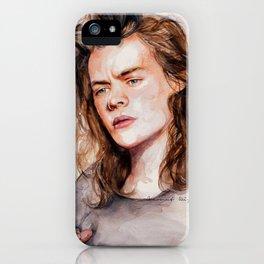 Harry watercolors III iPhone Case