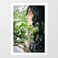 The Fruit Salad Tree Art Print