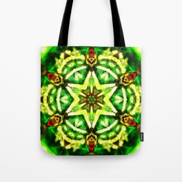 Twelve Around the One Redux - The Mandala Collection Tote Bag