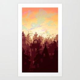 Day Trip Art Print