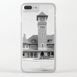Grand Trunk Station, Portland, Maine 1905 Clear iPhone Case