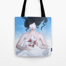Blood and Snow Tote Bag
