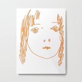 Sketch #15 Metal Print