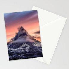 Glass peak Stationery Cards