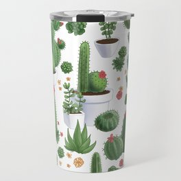Succulent Cacti Travel Mug