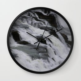 movement of water Wall Clock