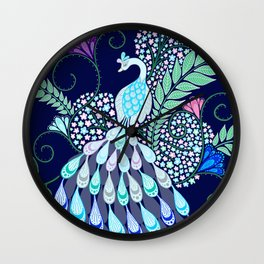 Moonlark Garden Wall Clock