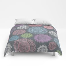 Doily Doodles Comforters