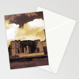 Abstracted Dungeness Ruins Stationery Cards