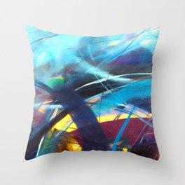 Tsunami II Throw Pillow