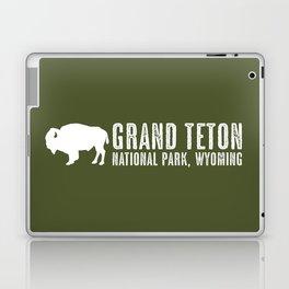 Bison: Grand Teton, Wyoming Laptop & iPad Skin
