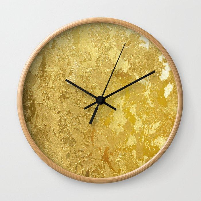 golden vintage Wall Clock
