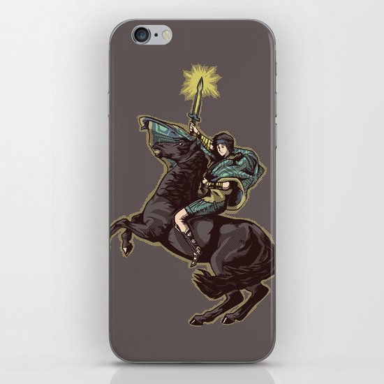 Crossing the forbidden lands iPhone & iPod Skin