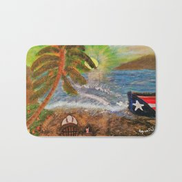Washed Ashore Bath Mat
