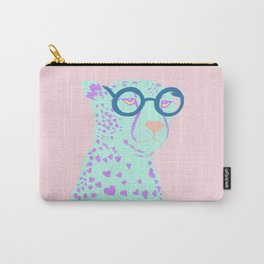 NERDY CHEETAH Carry-All Pouch