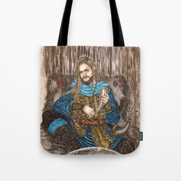 The Guardian of Bifrost Tote Bag