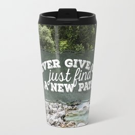 a new path Travel Mug