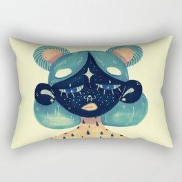 sunday girl Rectangular Pillow