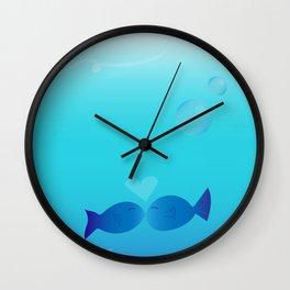 Lucky Little Fish Wall Clock