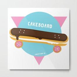 CAKEBOARD - LOAD OF SHIRT © Metal Print