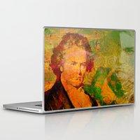 beethoven Laptop & iPad Skins featuring ludwig van beethoven by Ganech joe