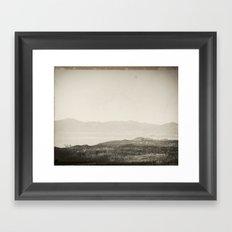 Landscape I Framed Art Print