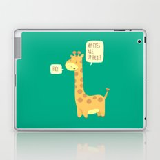 Giraffe problems! Laptop & iPad Skin