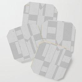 Light Gray Domio Deco Coaster