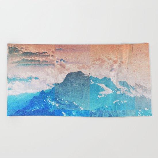 Fractions A77 Beach Towel