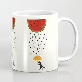 Raining Watermelon Coffee Mug